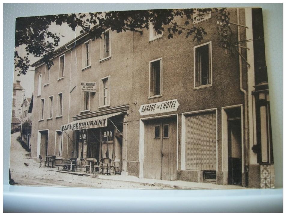 07 LA LOUVESC - HOTEL DE LA POSTE DEYGAS-BERTHOD -  (EDITION SEILLER) - Hotels & Restaurants