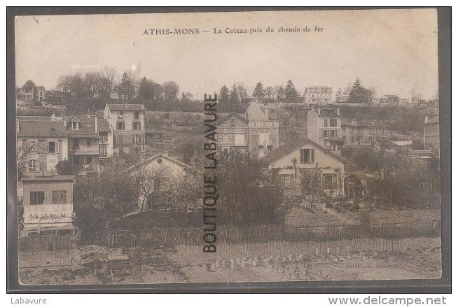 91----ATHIS-MONS--Le Coteau Pris Du Chemin De Fer - Athis Mons