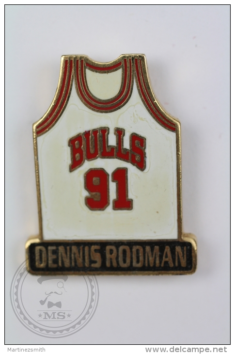 Chicago Bulls Shirt - Dennis Rodman - Pin Badge #PLS - Baloncesto