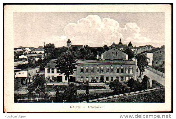 AK - Nauen Totalansicht - Germany