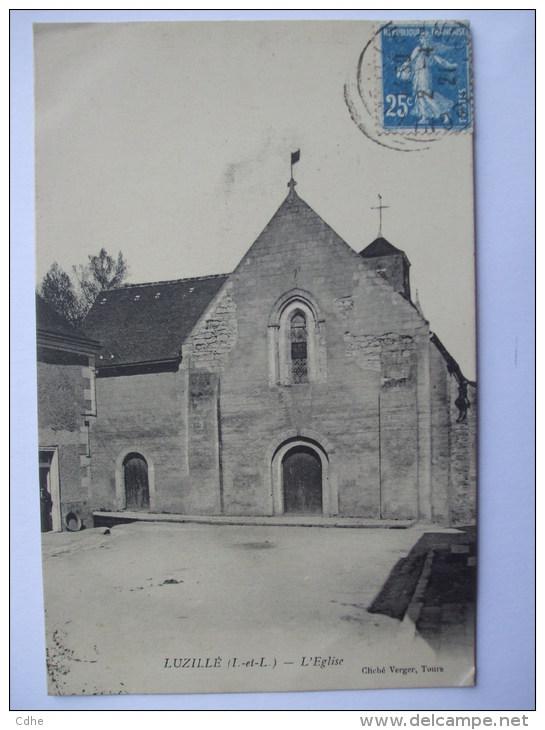 37-AL7- LUZILLE - L'EGLISE - - France