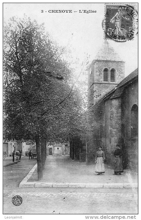 CHENOVE Eglise Bauer 3 - Chenove
