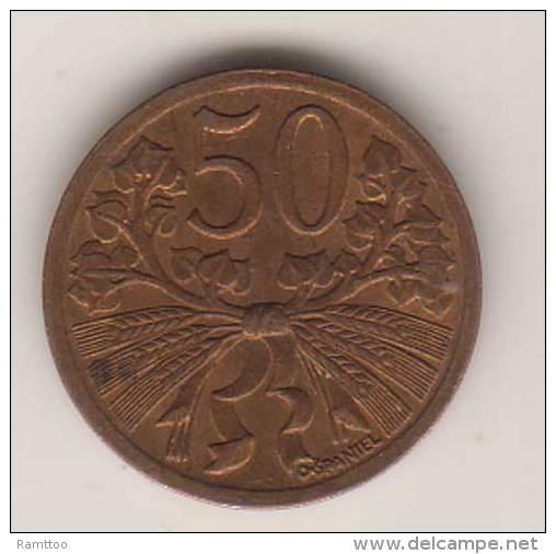 Tschechoslowakei , 50 Haleru , 1947 ( G.Schön 24 ) - Tschechoslowakei