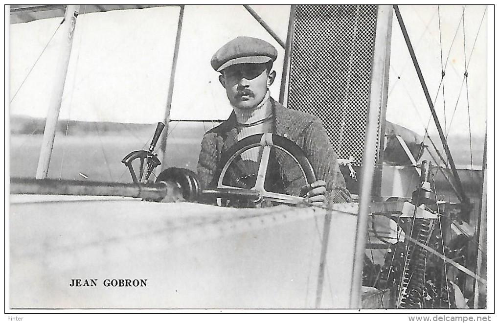 AVIATEUR - JEAN GOBRON - Aviatori