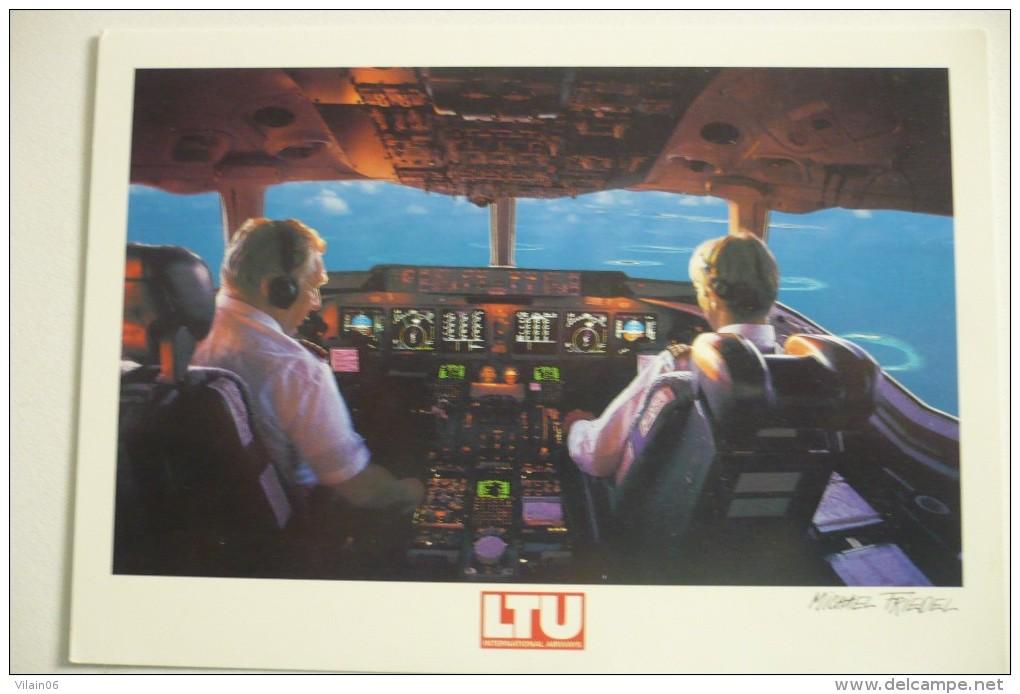 POSTE DE PILOTAGE   MD11    AIRLINE ISSUE  LTU - 1946-....: Era Moderna