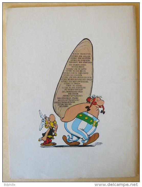 ASTERIX Tour De France (Grosser Asterix Band VI) En Allemand Delta 1970 AVEC Livret De Traduction. - Asterix