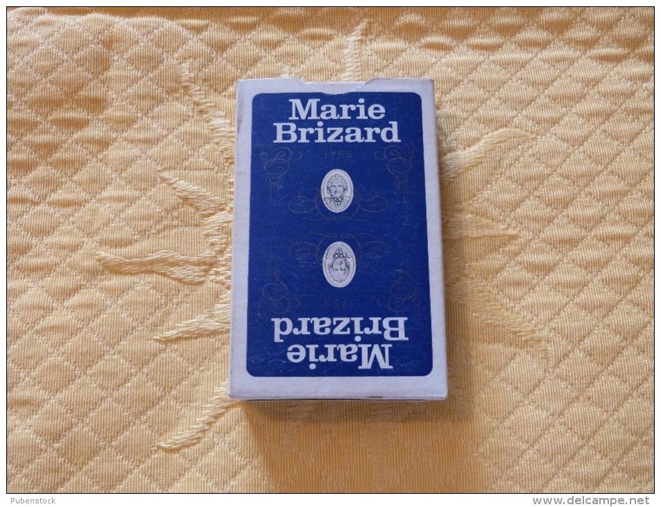 """Cartes à Jouer """"MARIE BRIZARD"""" - 32 Cartes"""