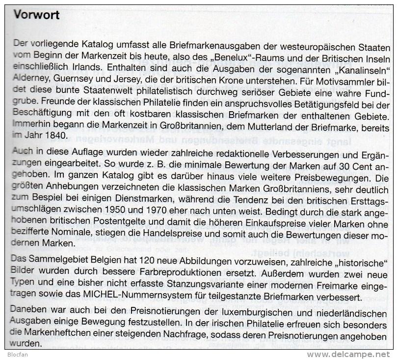 Westeuropa Katalog 2015 Neu 62€ MICHEL EUROPA Band 6 Belgien Irland Luxemburg Niederland UK GB Jersey Guernsey Man Wales - Boeken, Tijdschriften, Stripverhalen