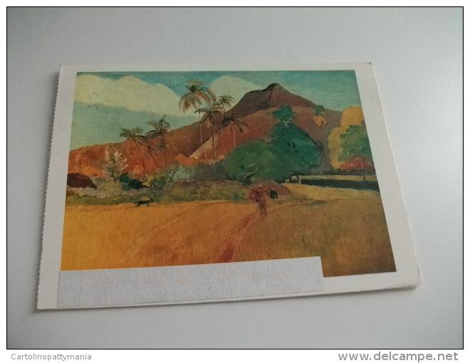STORIA POSTALE FRANCOBOLLO COMMEMORATIVO Tahitian Landscape By Paul Gauguin - Tahiti