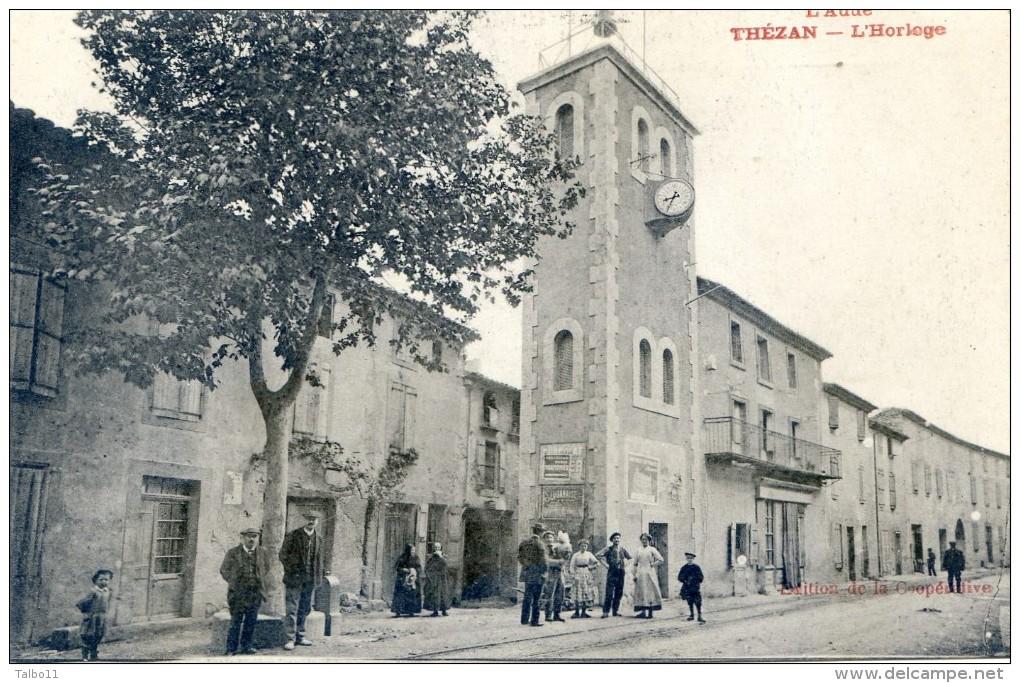 Thézan - L'horloge - Francia