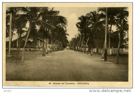 Cotonou Avenue Ds Cocotiers - Dahomey