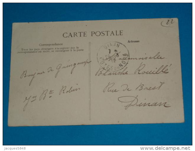 22) Guingamp - Les Villas ; Environ De La Gare  - Année 1912 -   EDIT-  Tirel-hamon - Guingamp