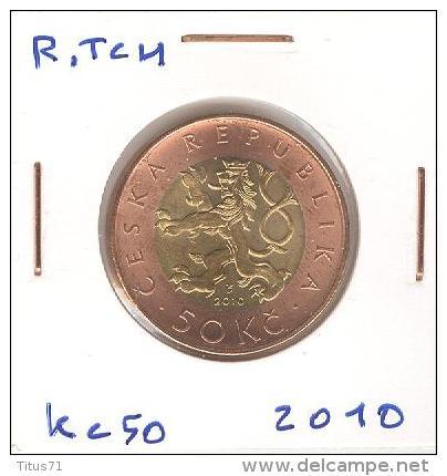 50 Kc République Tchèque / Czech Republic Bi-metallique / Bimetalic 2010 - Tchéquie