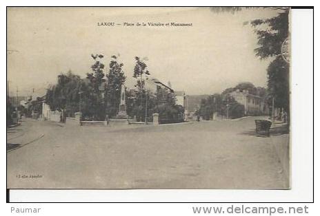 Laxou    Monument Aux Morts De La Guerre 1914-18 Et Les Rues............ - France