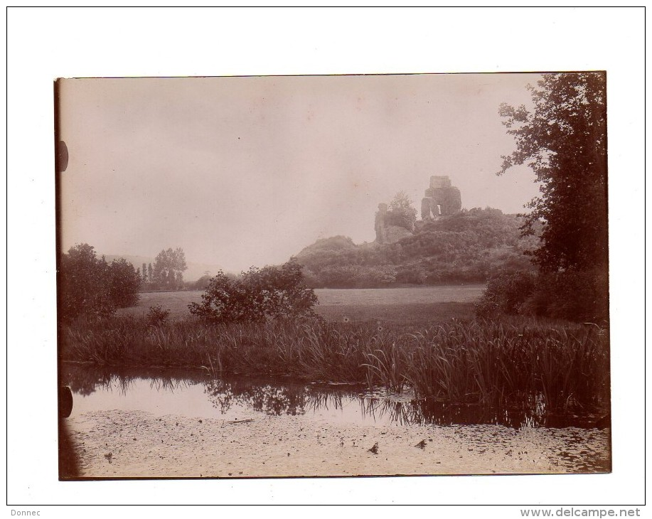 Photographie  , Ruines De Penhoat, Taulé   , Vers 1905, Format  Env. 13 X 18 Cm - Photos