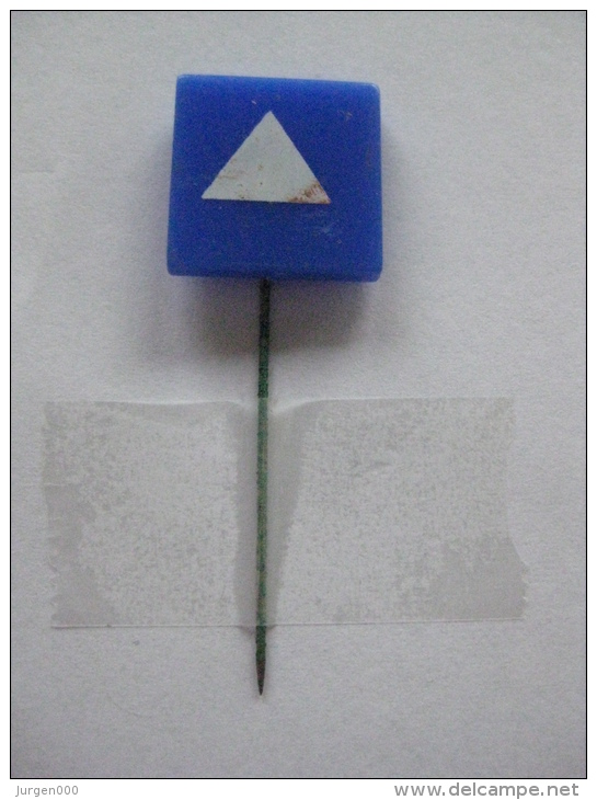 Pin Verkeersbord (GA00460) - Police
