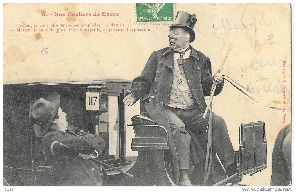Nos Cochers De Fiacre N°5 - Phototypie A. Bergeret Et Cie - Other