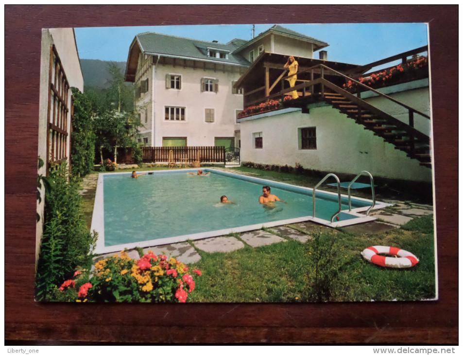 Hotel ADLER ( Pircher-Constantini ) Villabassa Niederdorf Dolomiti - Anno 19?? ( Zie Foto Voor Details ) - Hotels & Restaurants