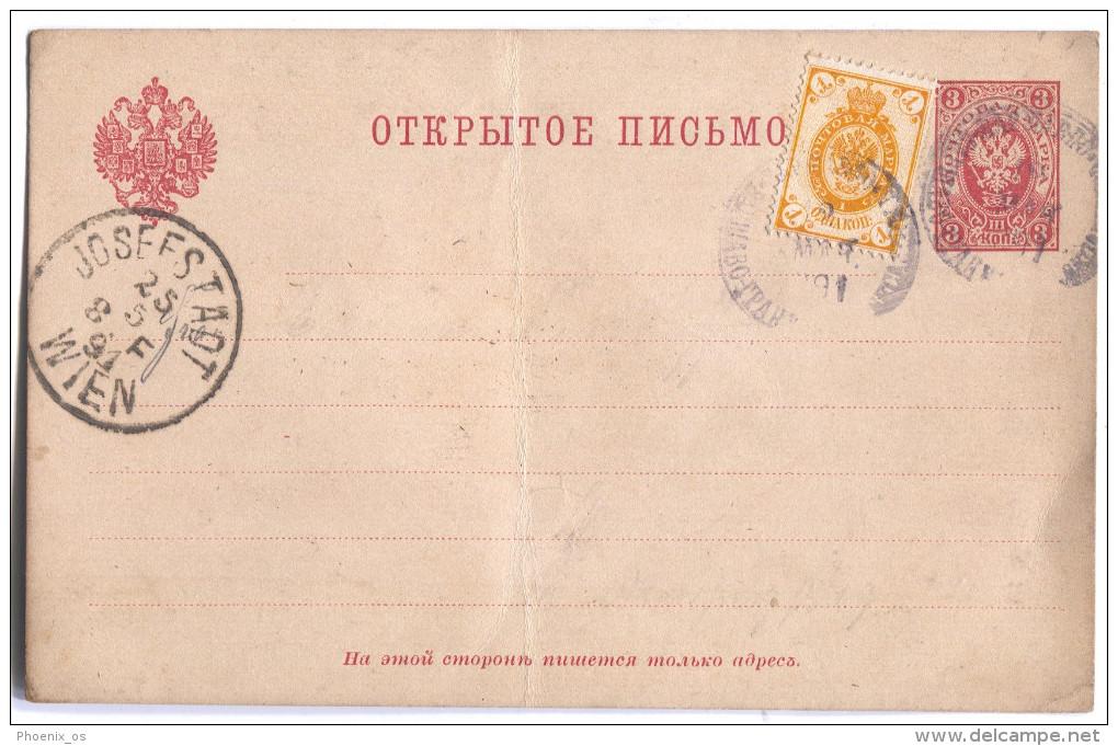 Russia Empire, 1891. Postal Stationery - 1857-1916 Imperium