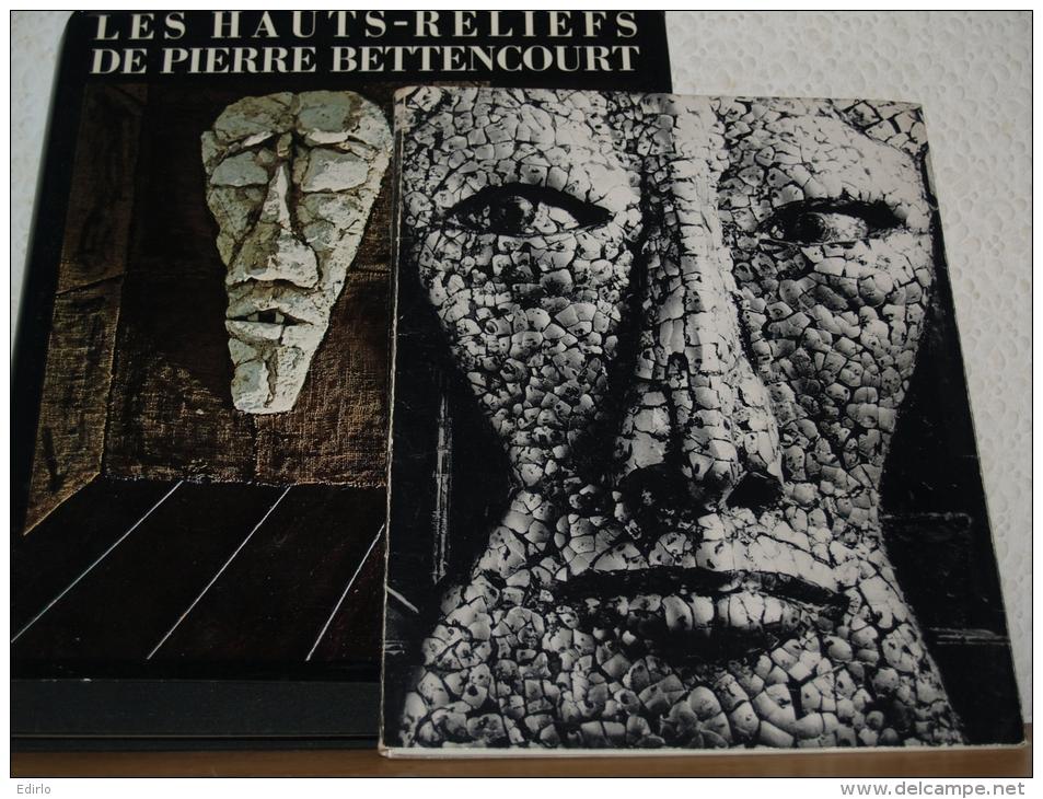Livre D'art Erotisme, LES HAUTS RELIEFS DE PIERRE BETTENCOURT  Livre Et  Brochure   état Neuf - - Art