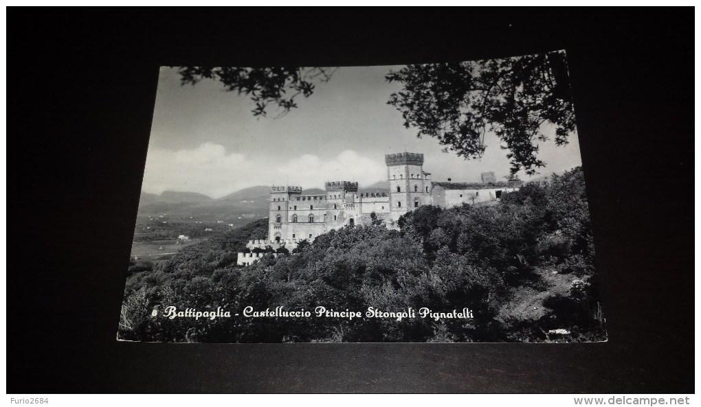C-15605 CARTOLINA BATTIPAGLIA - CASTELLUCCIO PRINCIPE STRONGOLI PIGNATELLI - CASTELLI - Battipaglia