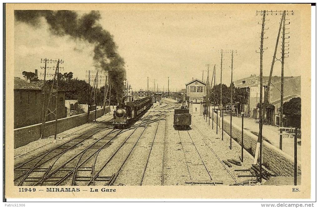 CPA  MIRAMAS, La Gare  7279 - Altri Comuni