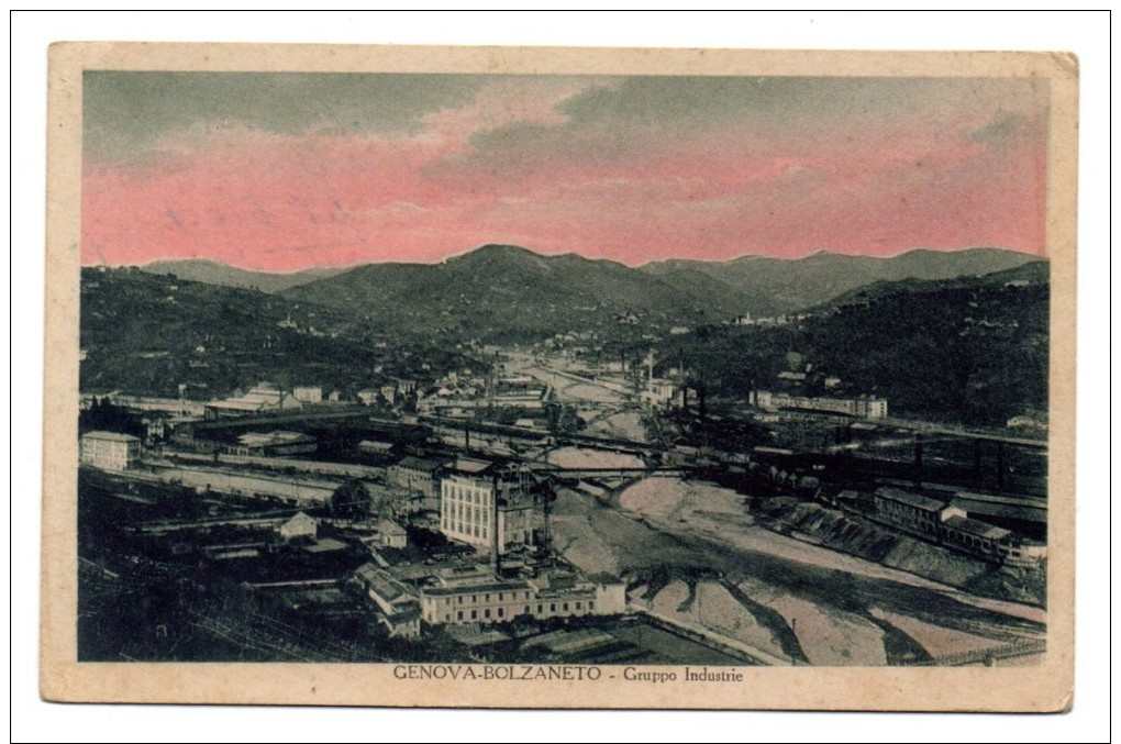 GENOVA - BOLZANETO - GRUPPO INDUSTRIE - Genova (Genoa)