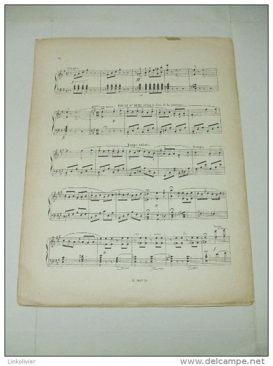 Partition : LAKMÉ (Opéra De Léo DELIBES) Bouquet De Mélodies 1ère Suite (incomplet) - Opéra
