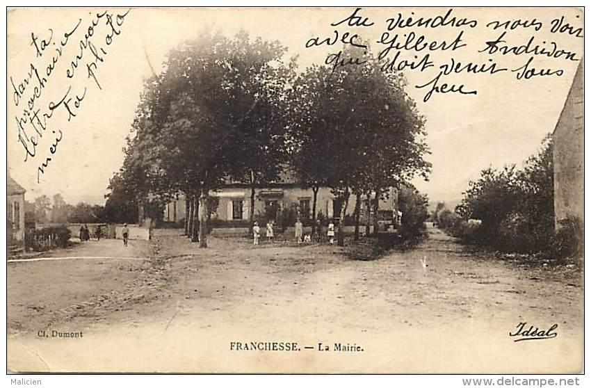 Depts Divers - Allier - Ref T691 - Franchesse - La Mairie  - Carte Bon Etat - Frankrijk