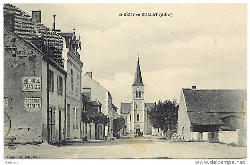 Depts Divers - Allier - Ref T668 -  Saint Remi En Rollat - St Remi En Rollat -  Carte Bon Etat - - France