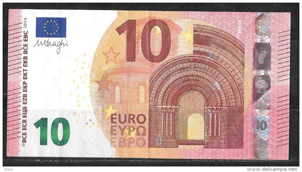 Italia 2014 Nuova Banconota Emessa Dalla Banca D´Italia Da €. 10 Circolata Perfetta - 10 Euro