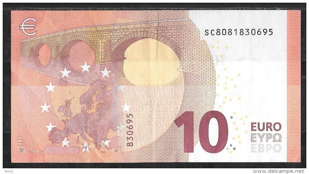 Italia 2014 Nuova Banconota Emessa Dalla Banca D´Italia Da €. 10 Circolata Perfetta - EURO