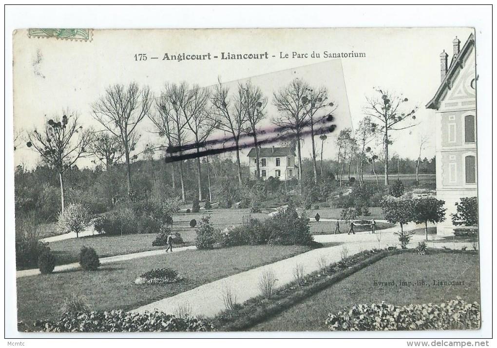 CPA - Angicourt - Liancourt  - Le Parc Du Sanatirium - Liancourt