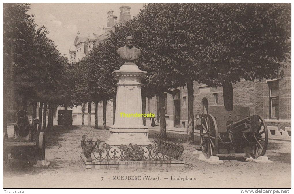 CPA  MOERBEKE WAAS LINDEPLAATS - Moerbeke-Waas