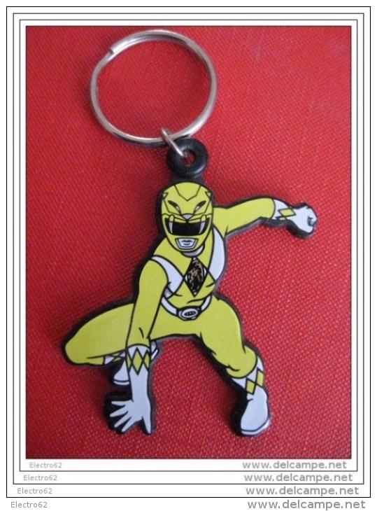 Porte-clefs Power Rangers Jaune - Power Rangers