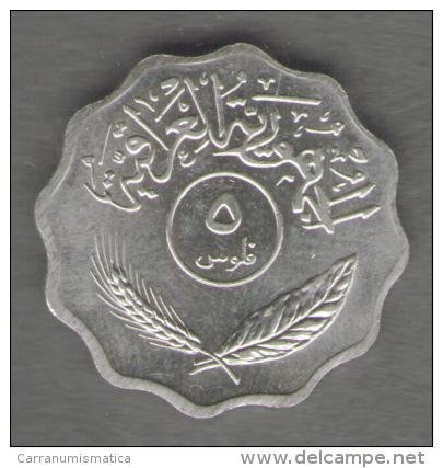 IRAQ 5 FILS 1981 - Iraq