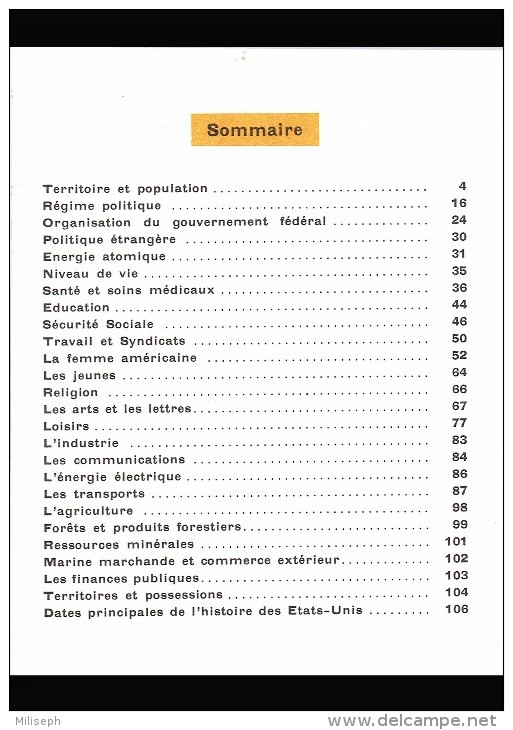 """Revue Touristique """" Voici Les ETATS-UNIS """" - ( Distribué Lors De L´ Exposition Universelle De Bruxelles 1958)   (3758 ) - Reizen"""