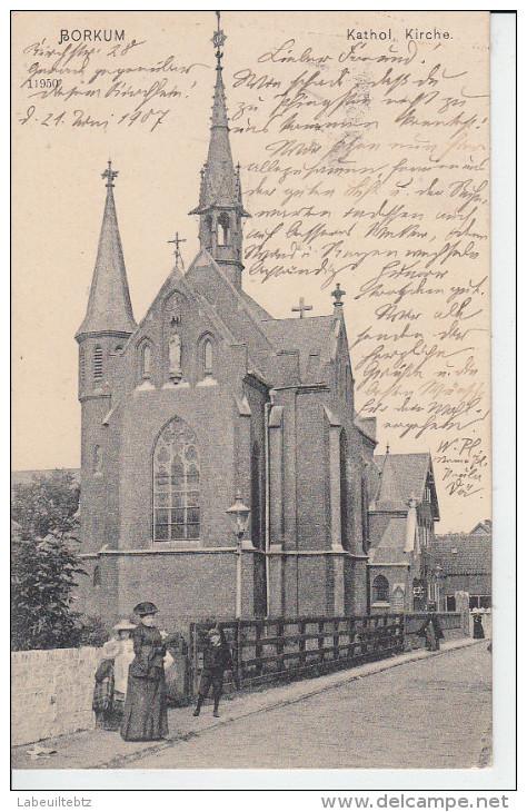 BORKUM - Kathol Kirche  PRIX FIXE - Borkum