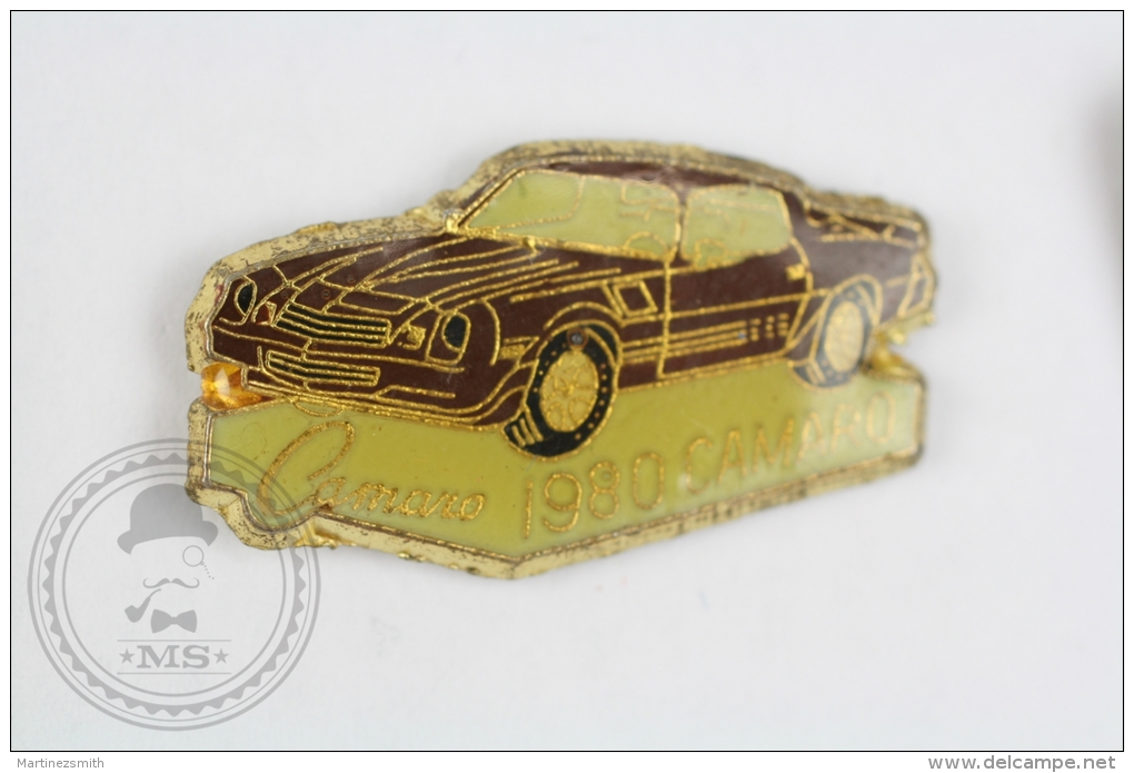 1980 American Muscle Chevrolet Camaro - Pin Badge #PLS - Pin