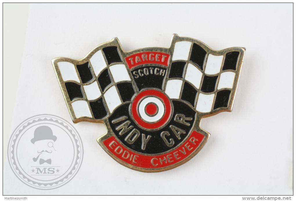 Indy Car Eddie Cheever - Target Scotch - Pin Badge #PLS - Otros