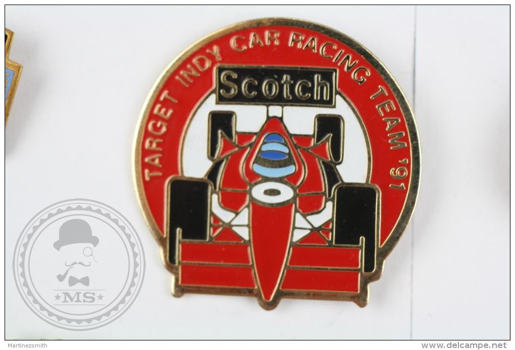 Target Indy Car Racing Team 1991, Scotch - Pin Badge #PLS - Otros