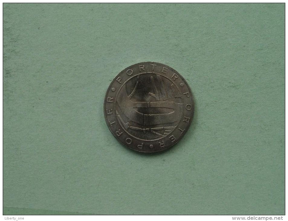 ROTTERDAM 1340 - 1990 / PORTER ( Details Zie Foto´s ) ! - Souvenirmunten (elongated Coins)