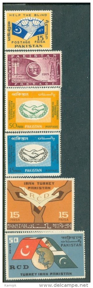 PAKISTAN MNH(**) STAMPS (FOR THE YEAR-1965) - Pakistan