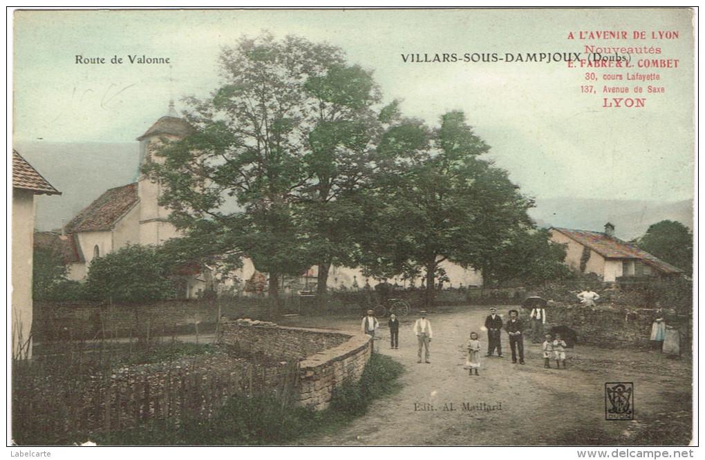 DOUBS 25.VILLARS SOUS DAMPJOUX - Frankreich