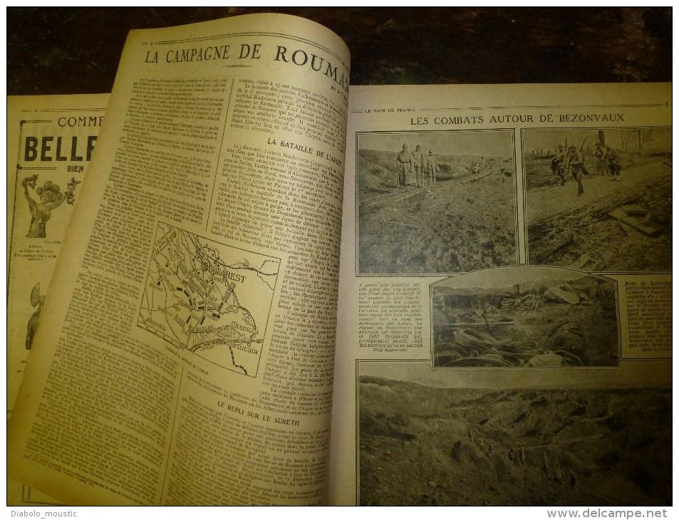 1917 LPDF: Graves évènements De RUSSIE (Révolution);Bezonveaux; Canadiens à L'ANCRE ;Anglais à BAGDAD; St-David (LONDON) - Revues & Journaux