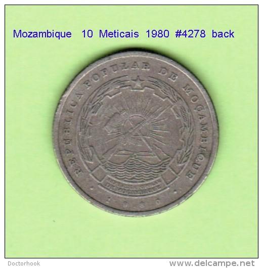 MOZAMBIQUE   10  METICAIS  1980   (KM # 102) - Mozambique