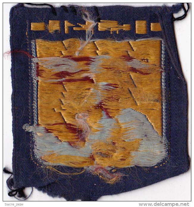 ECUSSON TISSU  CHANTIER DE JEUNESSE N°31-GUYNEMER - Patches