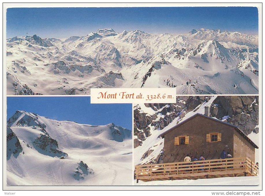 2238 - AK Mont fort alt, Haute Nendaz Valais, Suisse  | En vente sur Delcampe
