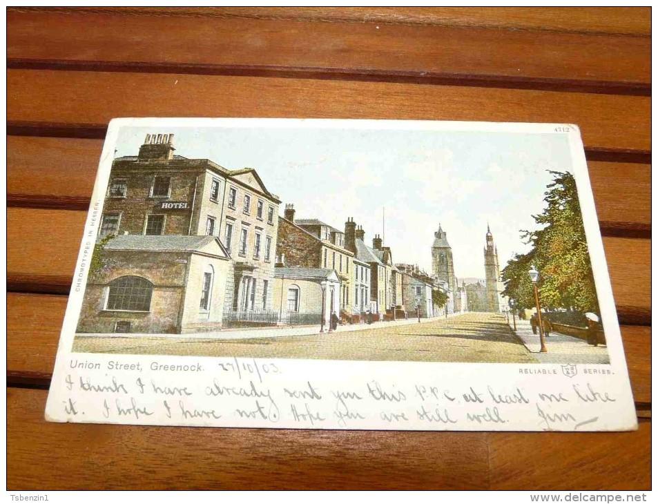 Union Street, Greenock, Scotland, United Kingdom - Renfrewshire
