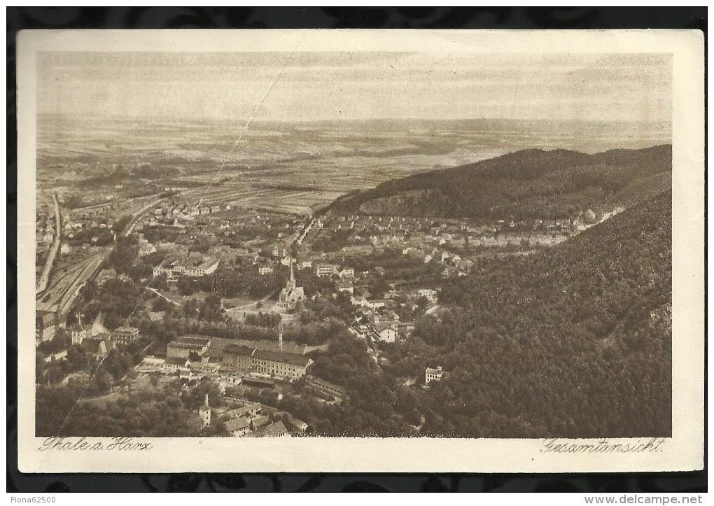 BILLET DE NECESSITE . THALE AM HARS . 50 PFENNIG . 1921 / 1922 . - [11] Local Banknote Issues